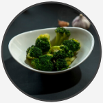 25 stir fried broccoli